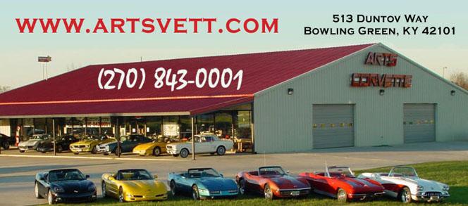 Car Lots Bowling Green Ky >> Art S Corvette Art S Auto Mart Inc